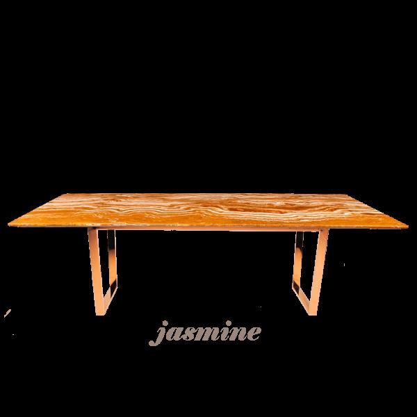 arancio-orange-rectangular-marble-dining-table-6-to-8-pax-decasa-marble-2200x1050mm-Jasmine-(RG)