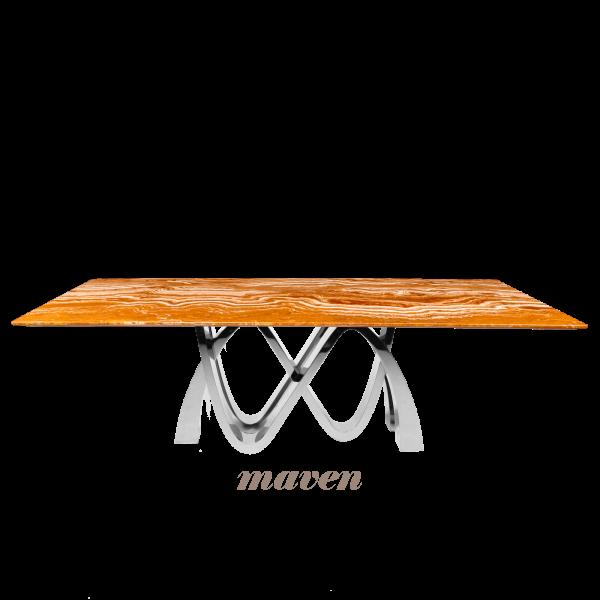 arancio-orange-rectangular-marble-dining-table-6-to-8-pax-decasa-marble-2200x1050mm-Maven-(SS)