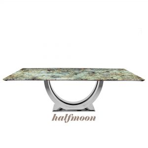 blue-jade-green-rectangular-granite-dining-table-6-to-8-pax-decasa-marble-2200x1050mm-halfmoon-ss