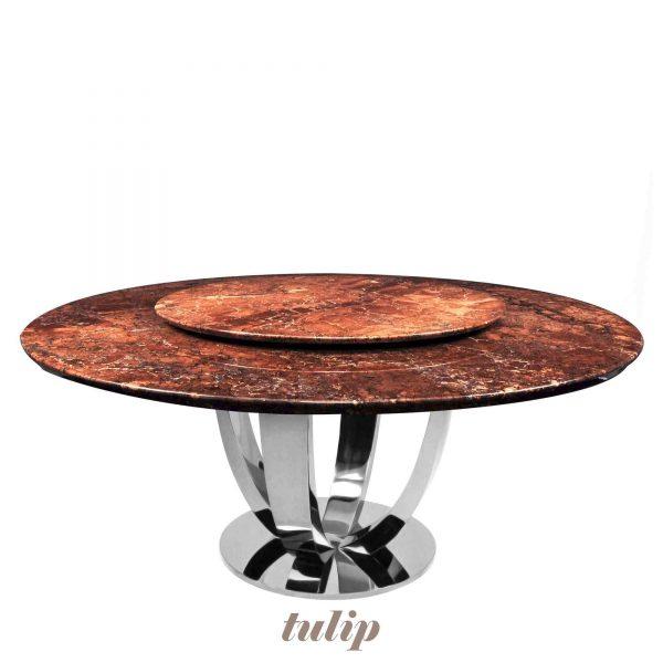 dark-emperador-dark-brown-round-marble-dining-table-6-to-8-pax-decasa-marble-dia-1500mm-tulip-ss