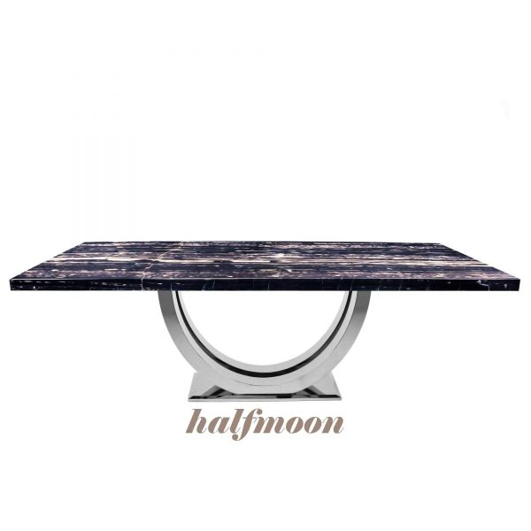 silver-perlatino-black-rectangular-marble-dining-table-6-to-8-pax-decasa-marble-2200x1050mm-halfmoon-ss
